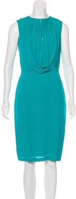 Martin Grant Sleeveless Knee-Length Dress