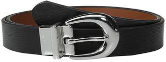 Lauren Ralph Lauren 1 Saffiano to Smooth Reversible Belt Women's Belts