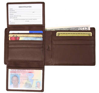 Royce Leather Royce Blocking Euro Commuter Wallet
