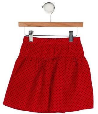 Florence Eiseman Girls' Printed Corduroy Skirt