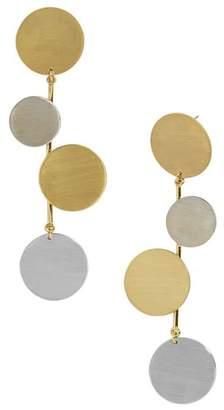 BaubleBar Rona Circle Drop Earrings