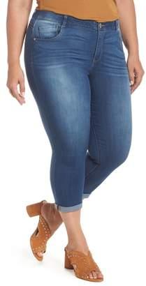 Wit & Wisdom Ab-solution High Waist Crop Skinny Jeans