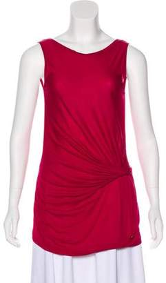 Gucci Drape-Accented Sleeveless Top