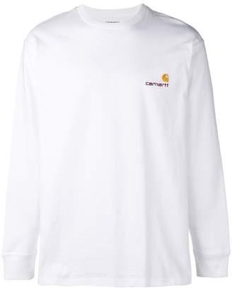 Carhartt Heritage logo jersey sweater