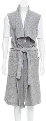 Nicholas Belted Longline Vest