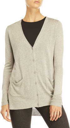 Joan Vass V-Neck Cardigan
