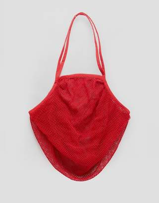 Asos BEACH String Bag In Red