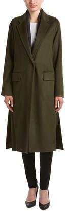 Dawn Levy Renata Vincuna Wool-Blend Coat