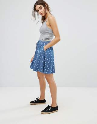 Tommy Hilfiger Paisley Print Skater Skirt