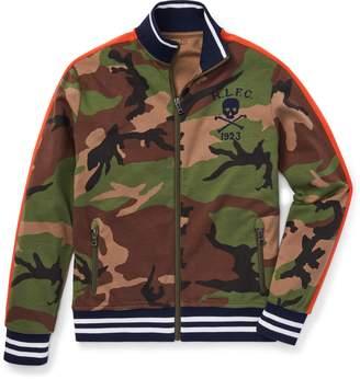Ralph Lauren Camo Cotton Track Jacket
