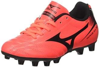 Mizuno Monarcida Neo MD JNR, Unisex Kids' Football Competition Shoes, Multicolore (FieryCoral/Black), (34.5 EU)