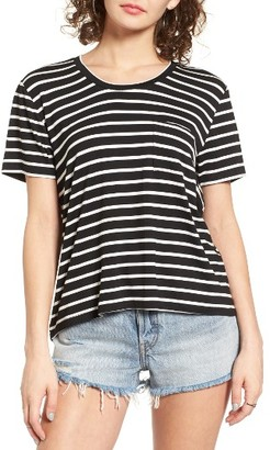 Women's Bp. Stripe Pocket Tee $29 thestylecure.com