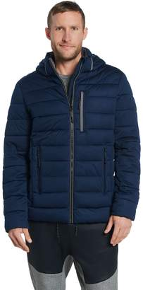 Nuage Men's Stretch Puffer Jacket w/ Removable Hood
