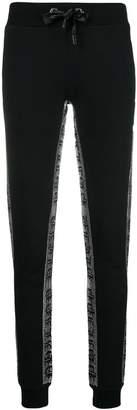 Philipp Plein slim drawstring trousers