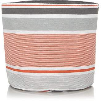 George Home Striped Fabric Storage Basket