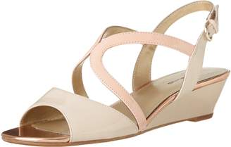 Bandolino Women's Grayson Synthetic Wedge Sandal