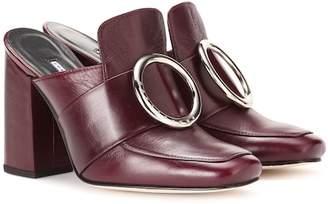 Dorateymur Munise embellished leather mules