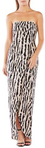 BCBGMAXAZRIABcbgmaxazria Animal-Inspired Print Dress