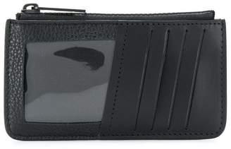 Maison Margiela logo zipped wallet