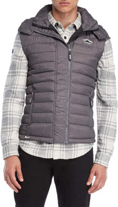 Superdry Fuji Hooded Puffer Vest
