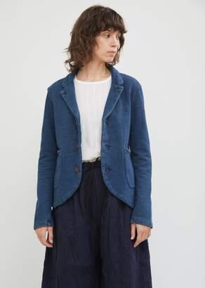 Kapital Indigo Fleece Farm Blazer