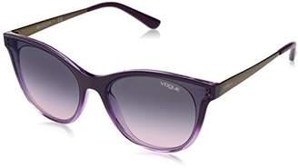 Vogue Women's 0vo5205s Non-Polarized Iridium Oval Sunglasses