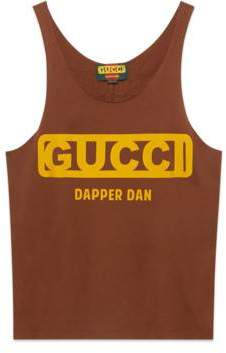 Gucci Dapper Dan tank top