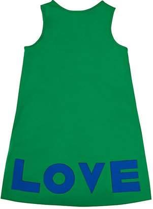 "Lisa Perry Kids' ""Love"" Ponte-Knit Dress"