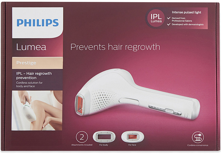 PHILIPS Lumea prestige hair removal tool