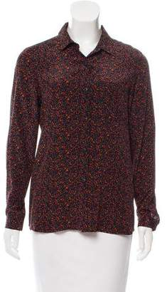 Steven Alan Silk Printed Top