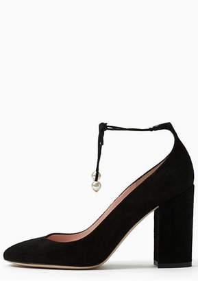 Kate Spade Gena Pearl Tie Shoes