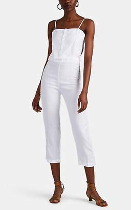 SIR The Label Women's Estee Linen Jumpsuit - White