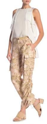 Nicole Miller Safari Camo Silk Pants