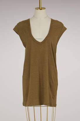 Etoile Isabel Marant Linen Zanky t-shirt