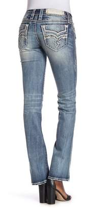 Rock Revival Gysii Distressed Bootcut Jeans