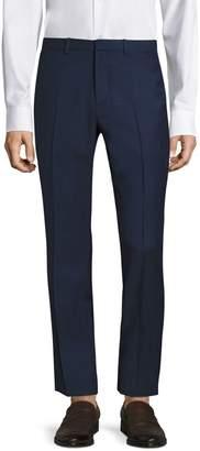 Theory Jake Slim-Fit Grid Glenn Wool Trousers