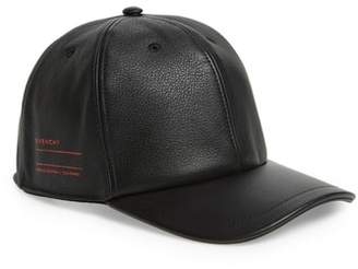 Givenchy Leather Ball Cap
