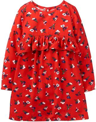 Crazy 8 Crazy8 Toddler Floral Ruffle Dress