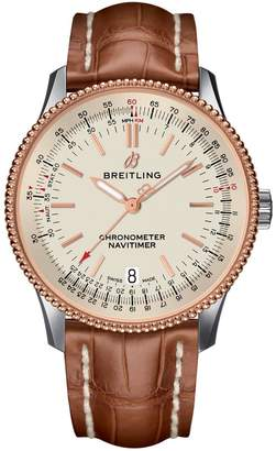 Breitling Stainless Steel Navitimer 1 Automatic Watch 38mm