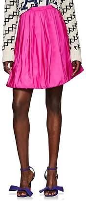 Calvin Klein Women's Silk Bubble Miniskirt