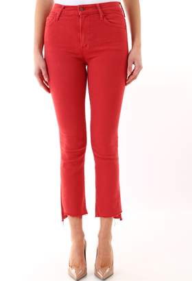 Mother Red Denim
