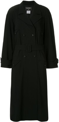 Chanel Pre-Owned belted trench coat