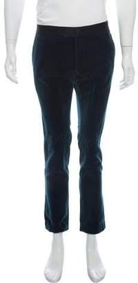 Haider Ackermann Velvet Dress Pants