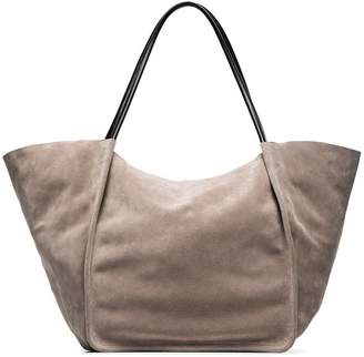 Proenza Schouler grey Extra Large suede tote bag