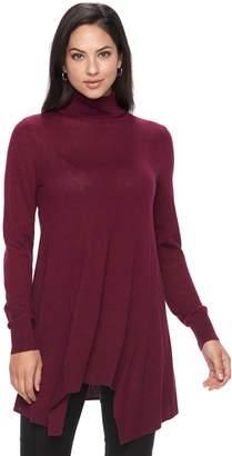 Apt. 9 Women's Turtleneck Tunic Sweater
