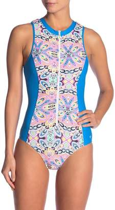 Next Wellness Retreat Sleeveless Malibu One-Piece Swimsuit