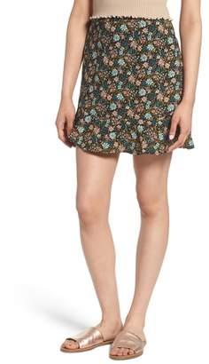 BP Floral Flounce Skirt