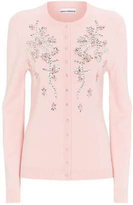 Paco Rabanne Jewelled Cardigan