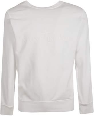 Stone Island Embroidered Sweatshirt