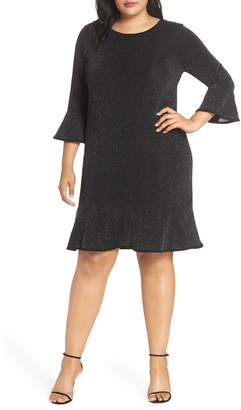 MICHAEL Michael Kors Flounce Sleeve Dress